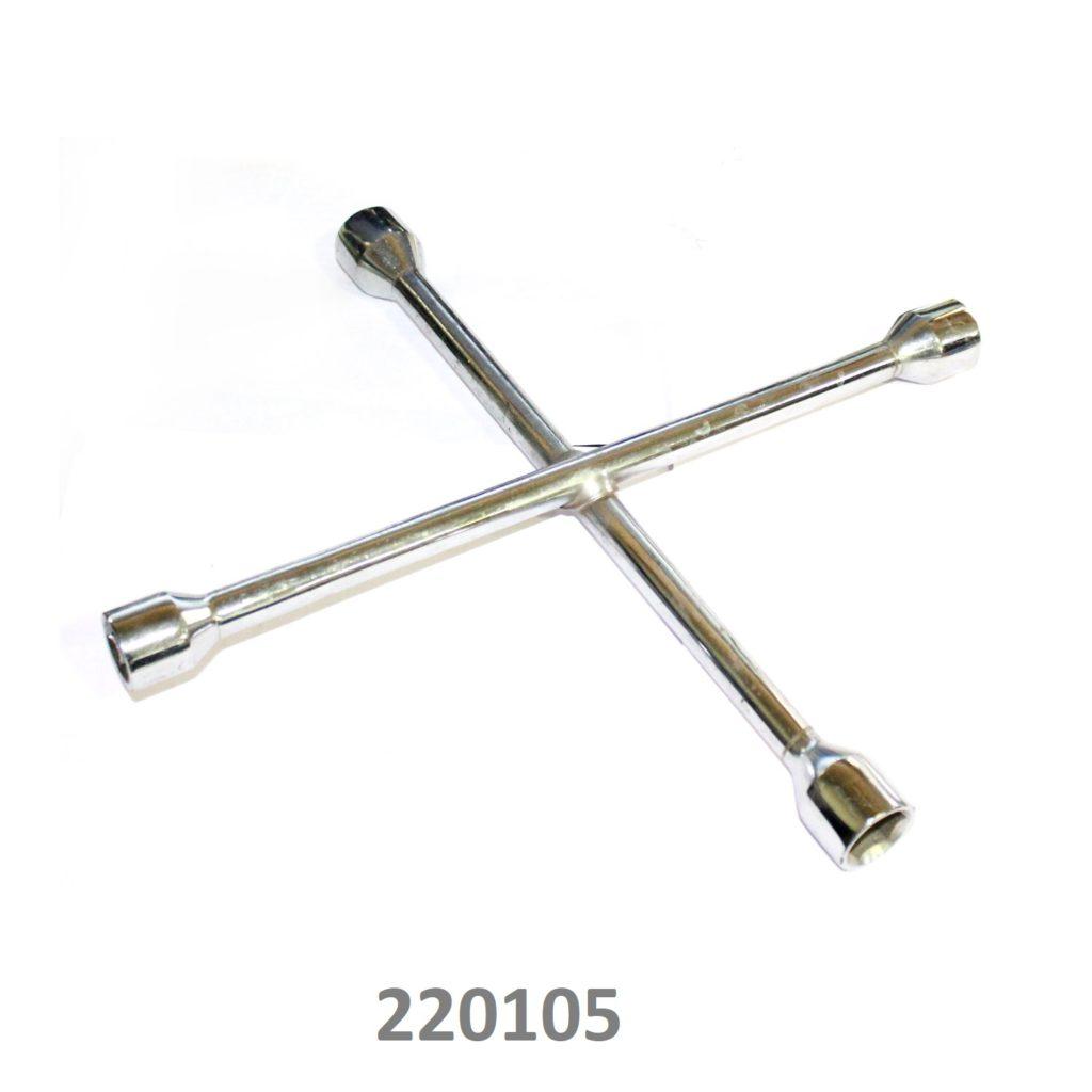 SARV Universal 4 way Cross Hex ,Wheel Nut Wrench 17mm X19mmx22mmx13/16″ ,Combination mm & SAE lug wrench