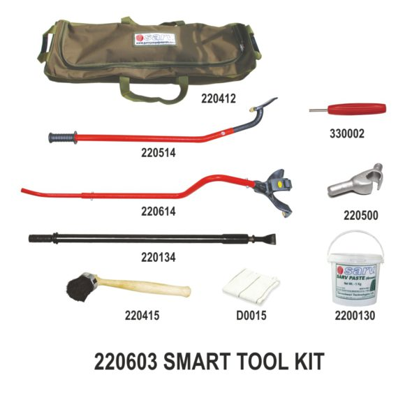 Manual Tubeless Truck 22.5? Tyre Mount Demount Tool Kit