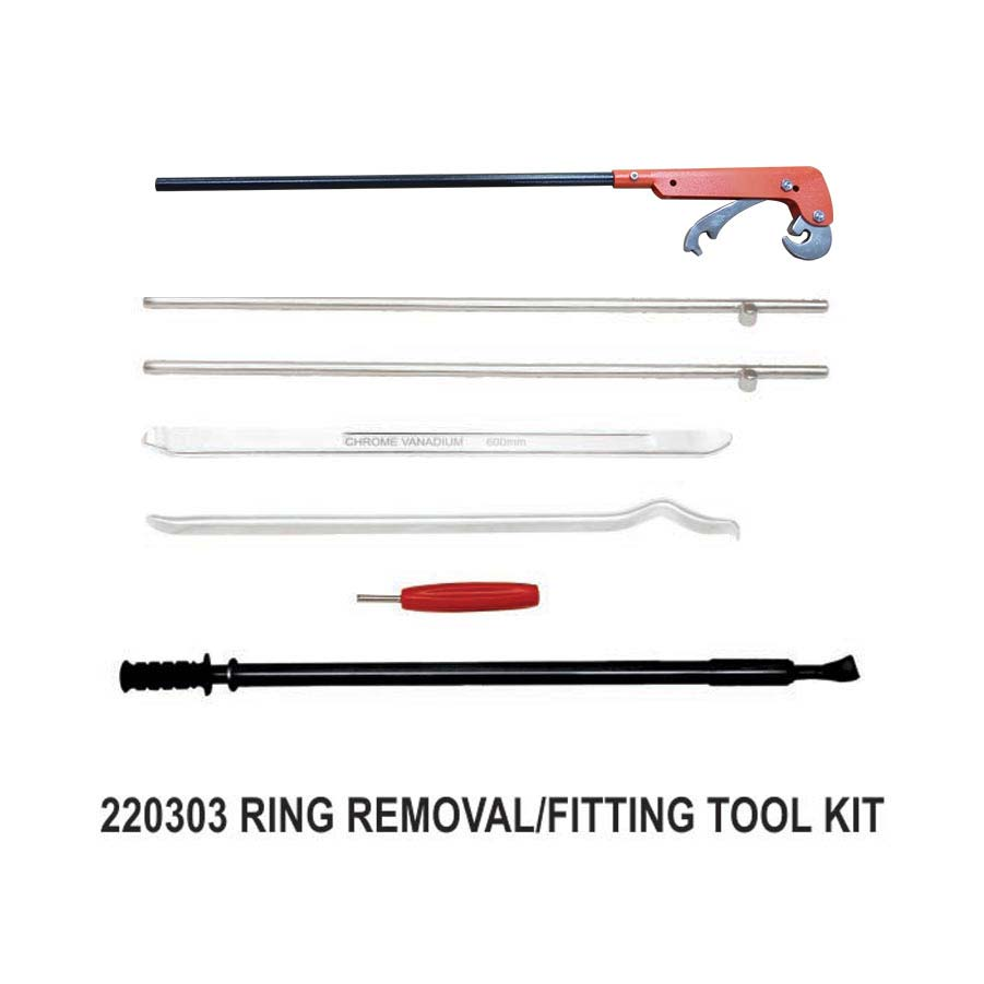 MANUAL TRUCK LOCK RING REMOVAL TOOL KIT FOR MULTI PIECE RIMS