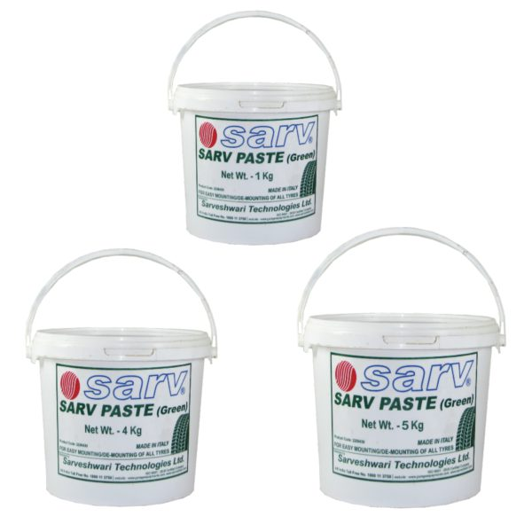 Tyre Mounting Paste and Brushes