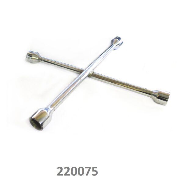 SARV Universal 4 way Cross Hex ,Wheel Nut Wrench 17mm X19mmx21mm x23mm.
