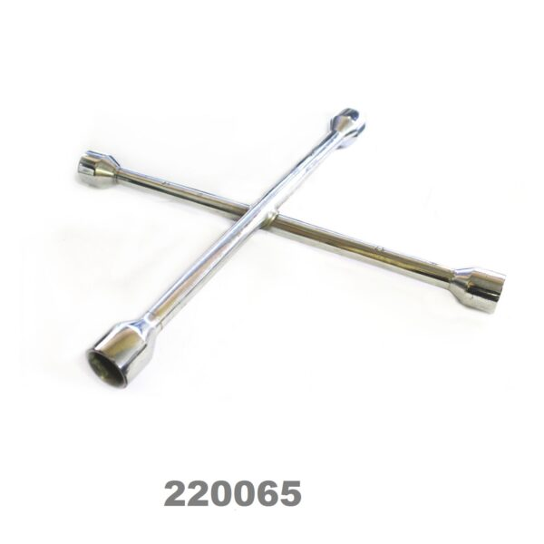SARV Universal 4 way Cross Hex ,Wheel Nut Wrench 17mm X19mmx21mm x22mm.